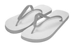 Flip Flops grau