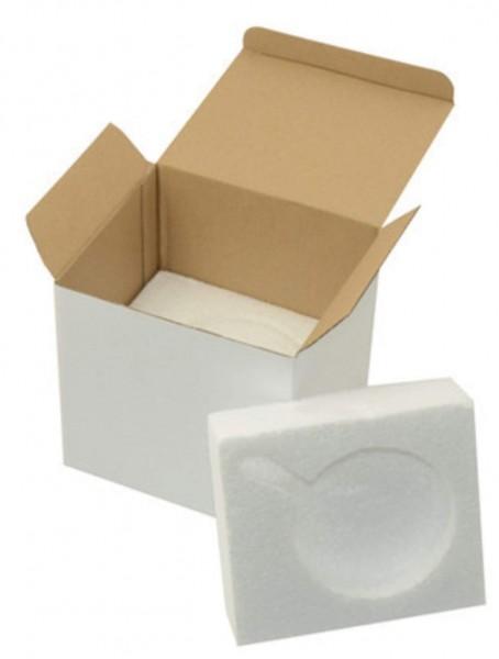 Tassenkarton mit Styroporeinsatz