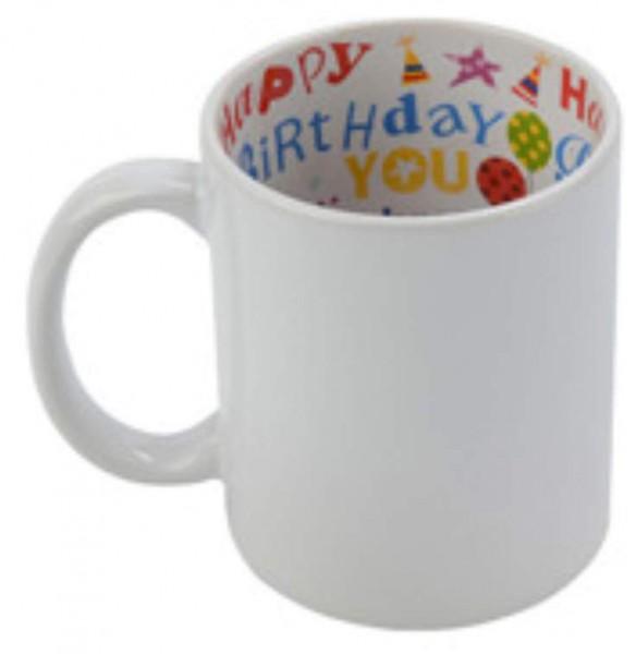 Mottotassen Sublimation Happy Birthday