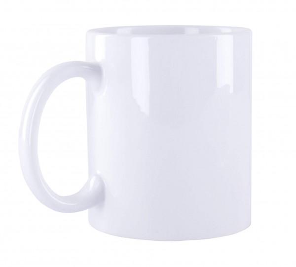Sublimations Tasse Standard weiß